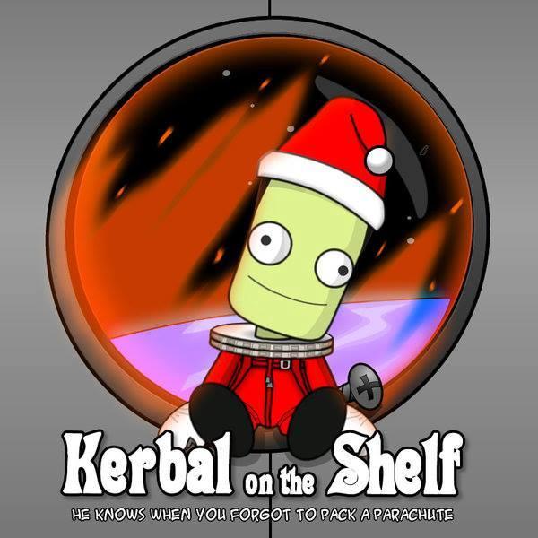 kerbal on the shelf